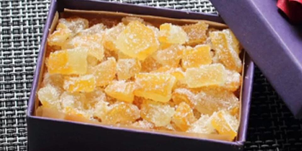 candied buddhas hand citron