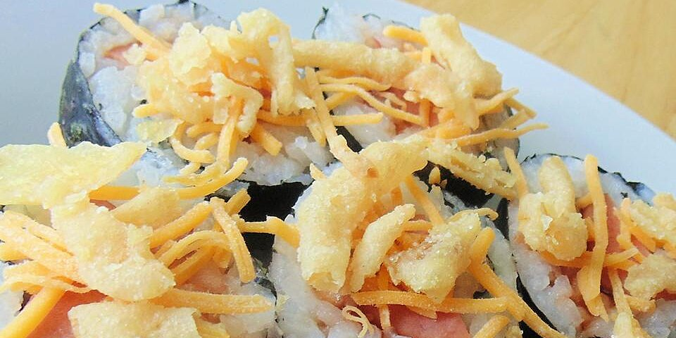 barbeque hot dog sushi roll recipe