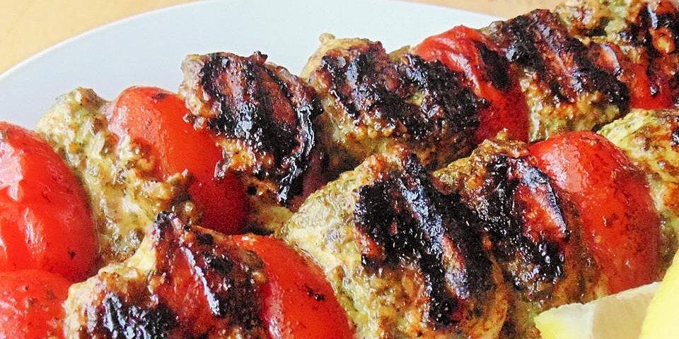 pesto chicken kabobs recipe
