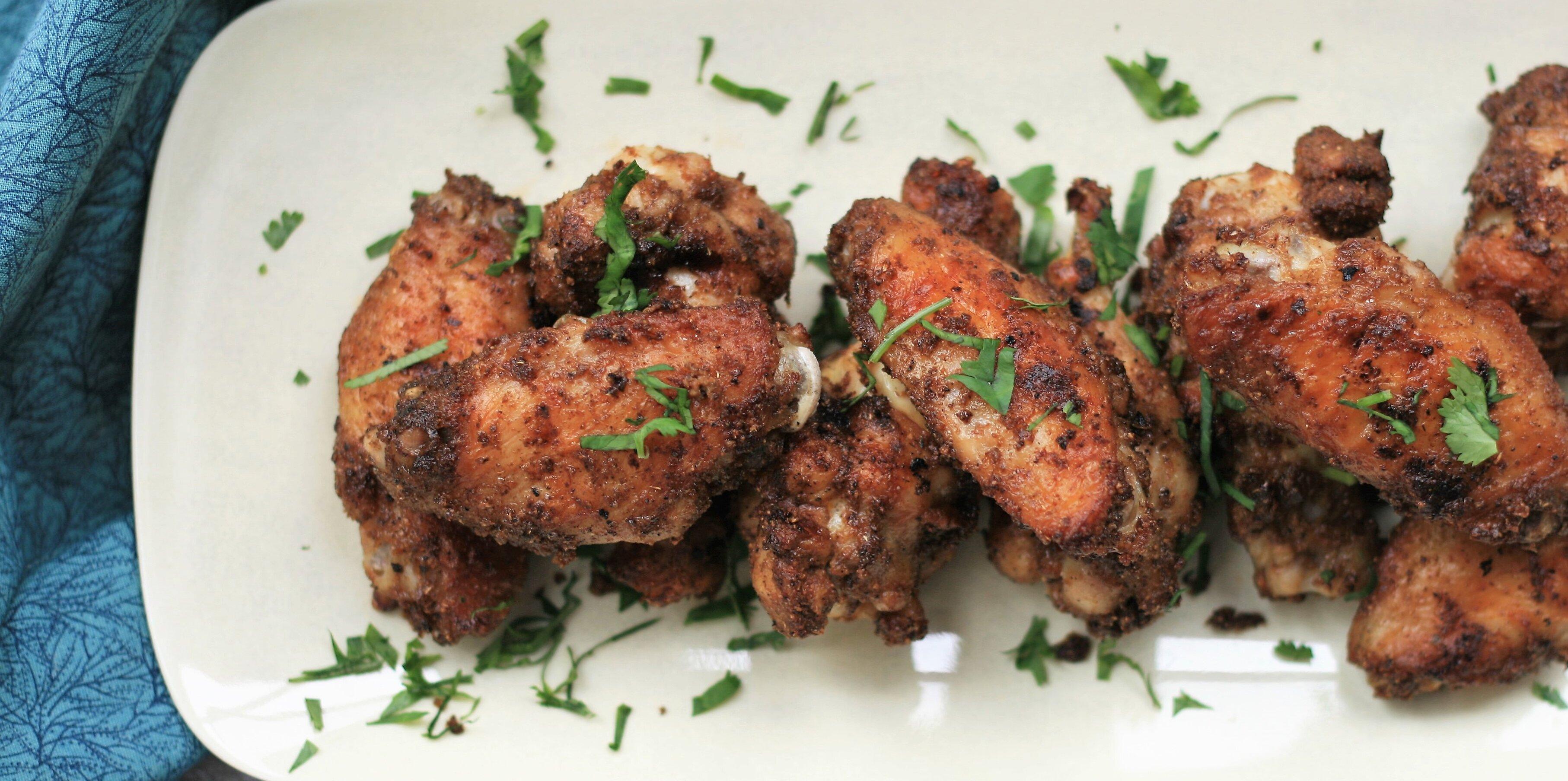 indian masala chicken wings recipe