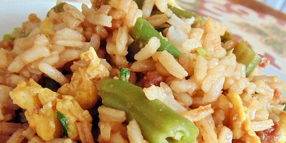 easy bacon fried rice recipe