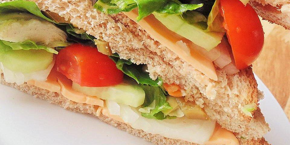 spicy veggie sandwich recipe
