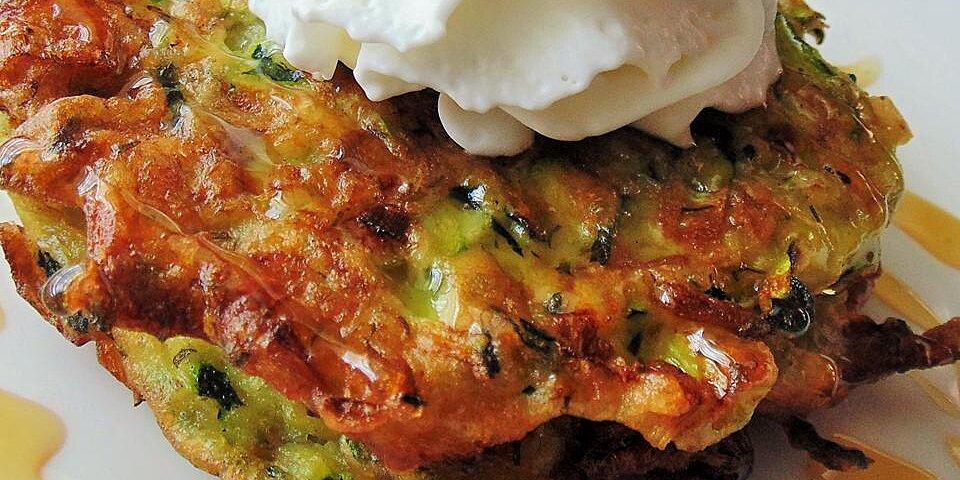 russian sweet zucchini pancakes recipe