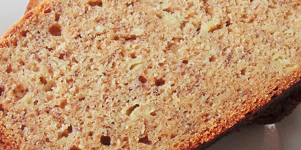 honey spice whole wheat banana bread recipe