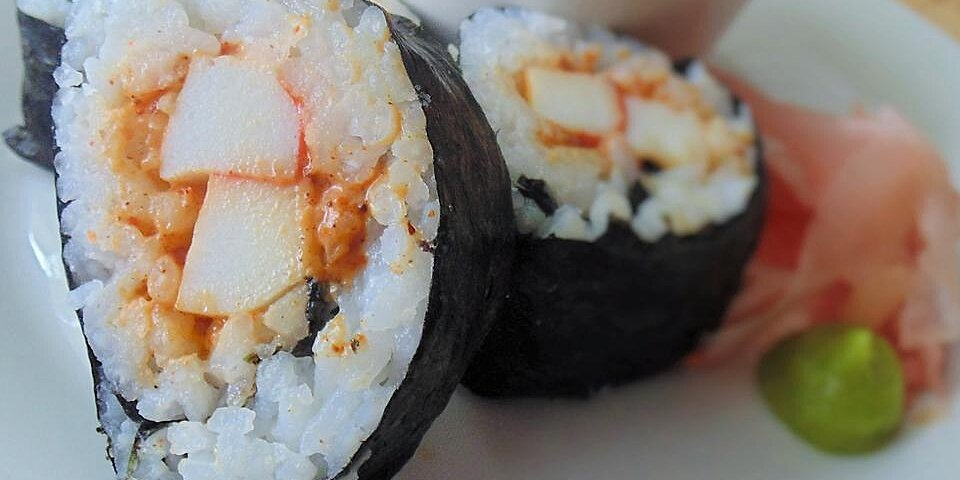 spicy sushi roll recipe
