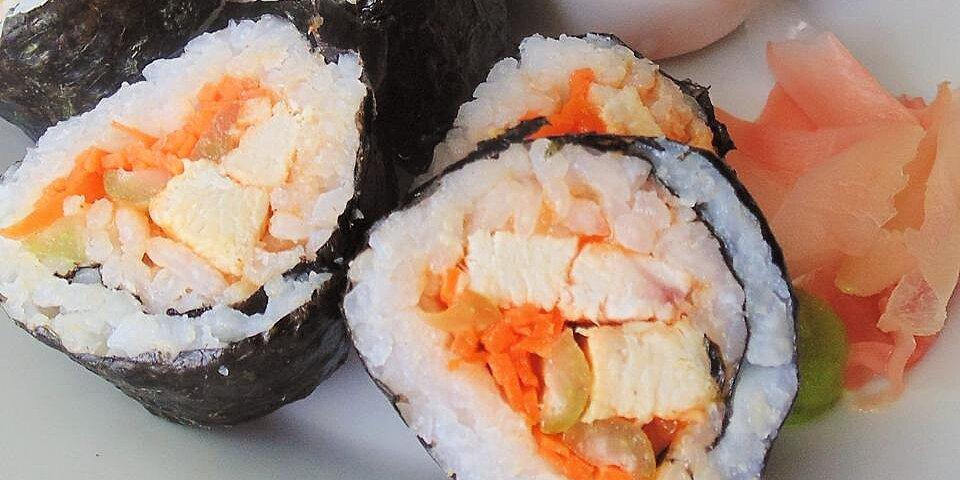 buffalo chicken sushi roll recipe