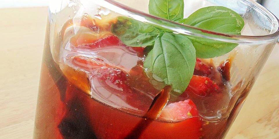 strawberry basil balsamic martini recipe