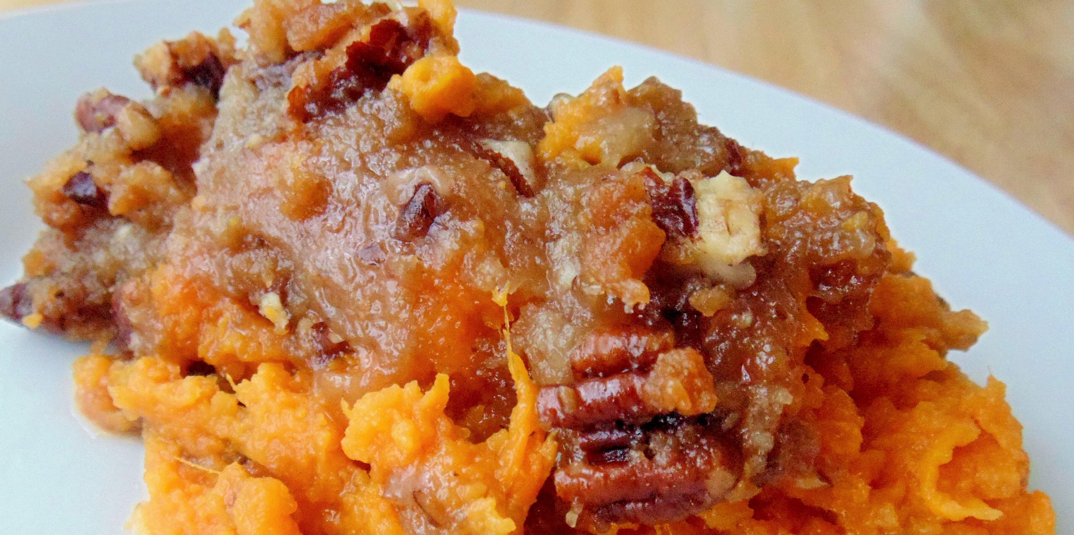 sweet potato casserole dessert recipe