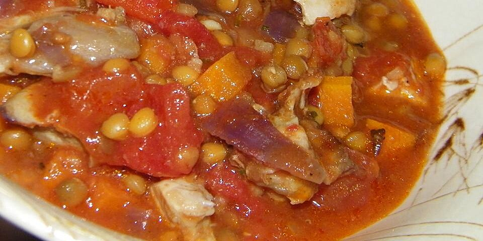 chicken and lentils recipe