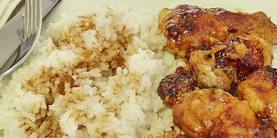glazed sweet and sour chicken wings
