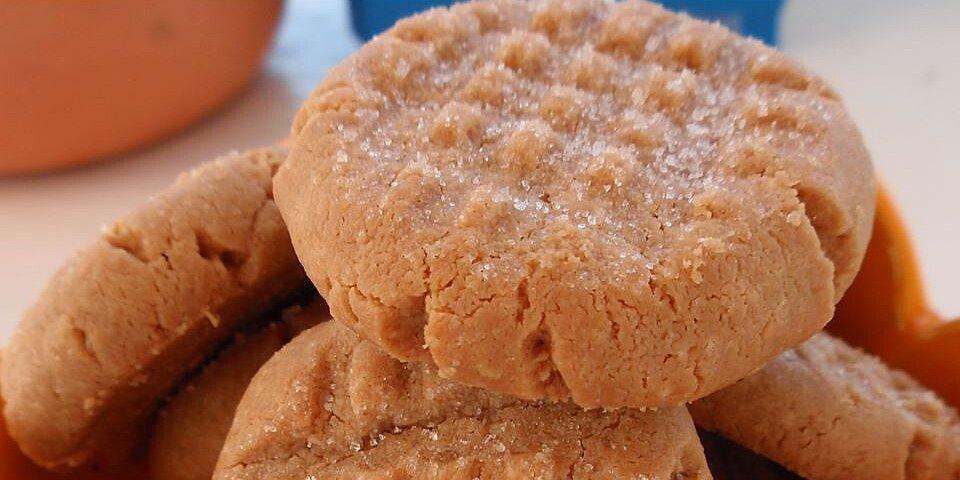 three ingredient peanut butter cookies recipe