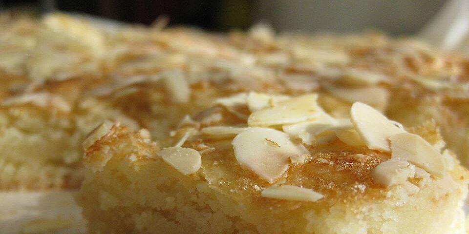 almond squares ii recipe