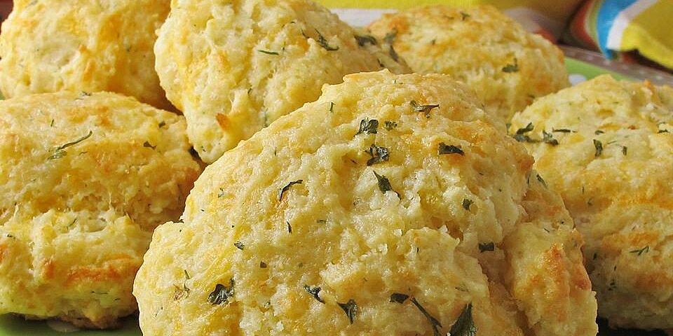 garlic herb butter drop biscuits recipe