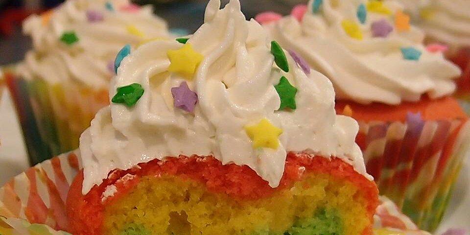 rainbow cupcakes recipe