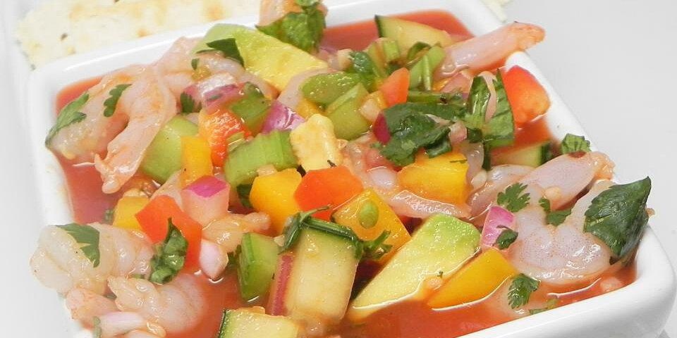 light and fresh mexican gazpacho recipe