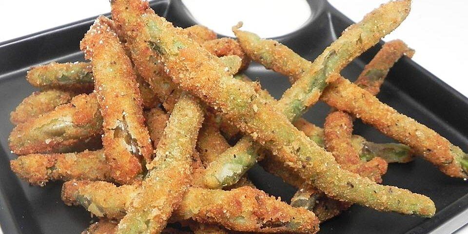 deep fried green beans recipe