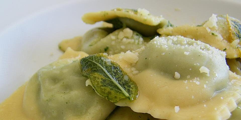 spinach feta and pine nut ravioli filling recipe