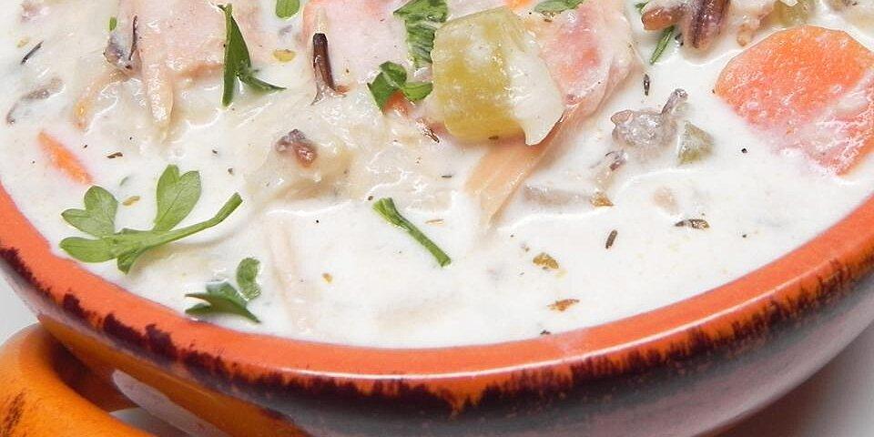 smoked turkey wild rice soup recipe
