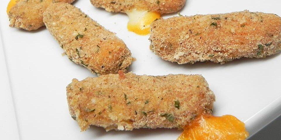 healthy mozzarella sticks recipe