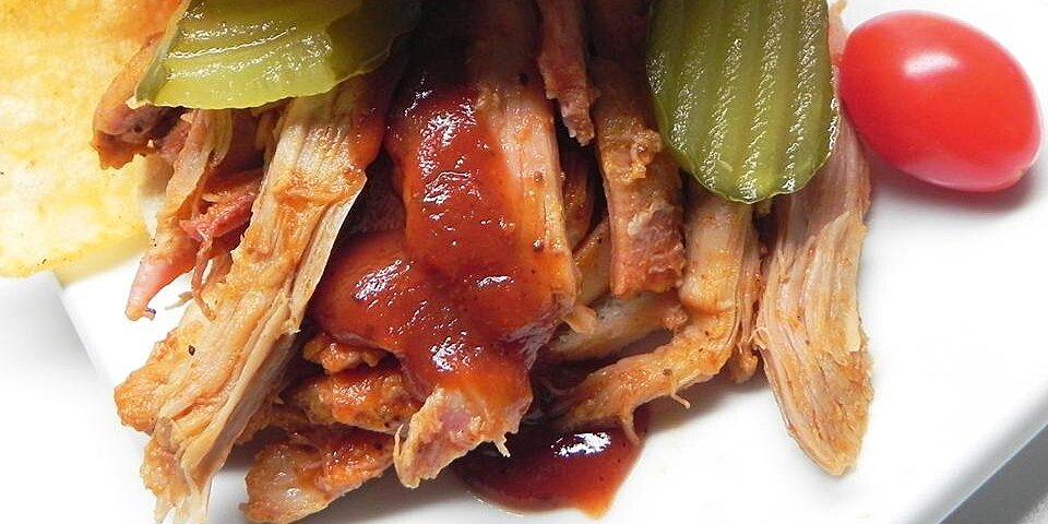 spicy pulled pork pushover recipe