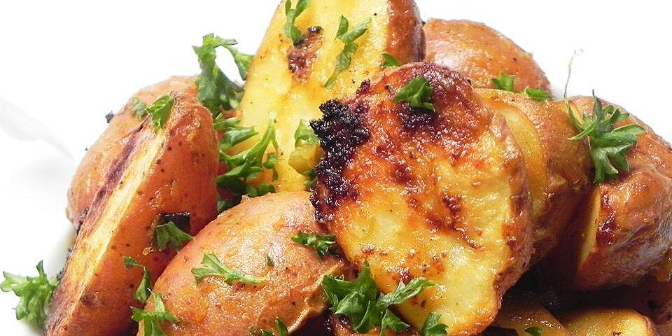 honey mustard roasted potatoes recipe