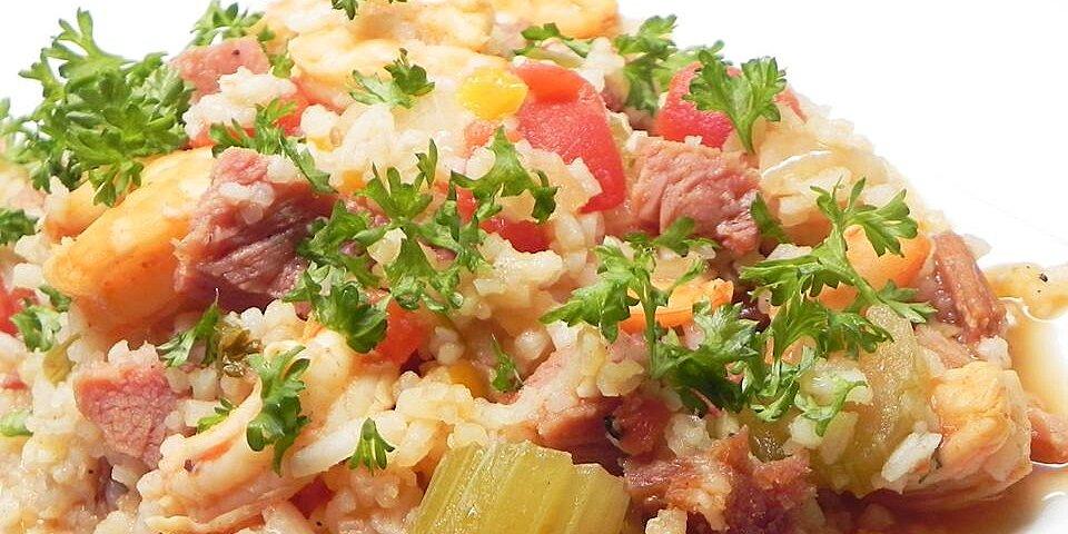 ham and shrimp jambalaya recipe