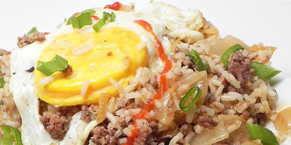 kimchi bokeumbab kimchi fried rice recipe