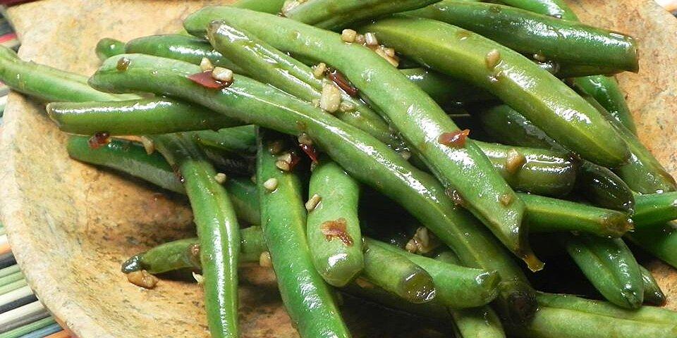 spicy szechuan green beans recipe