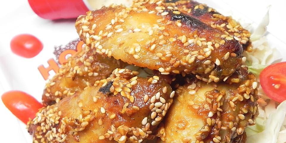 sesame wings recipe
