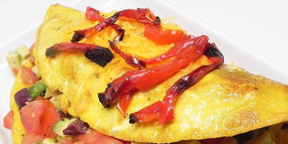 avocado greek omelet recipe
