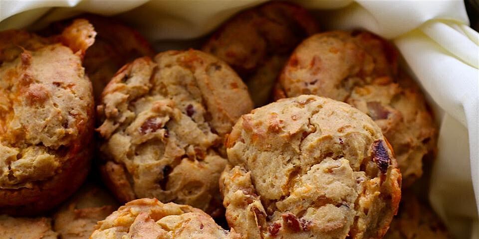 savory sweet potato muffins with bacon recipe