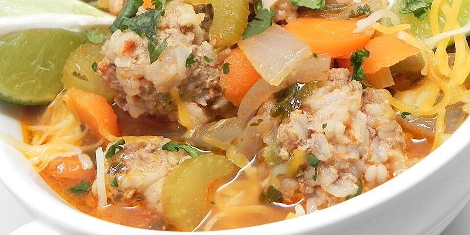 litas albondigas meatball soup recipe
