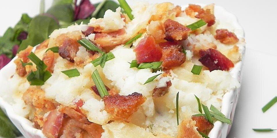 smoked bacon and irish cheese mash recipe