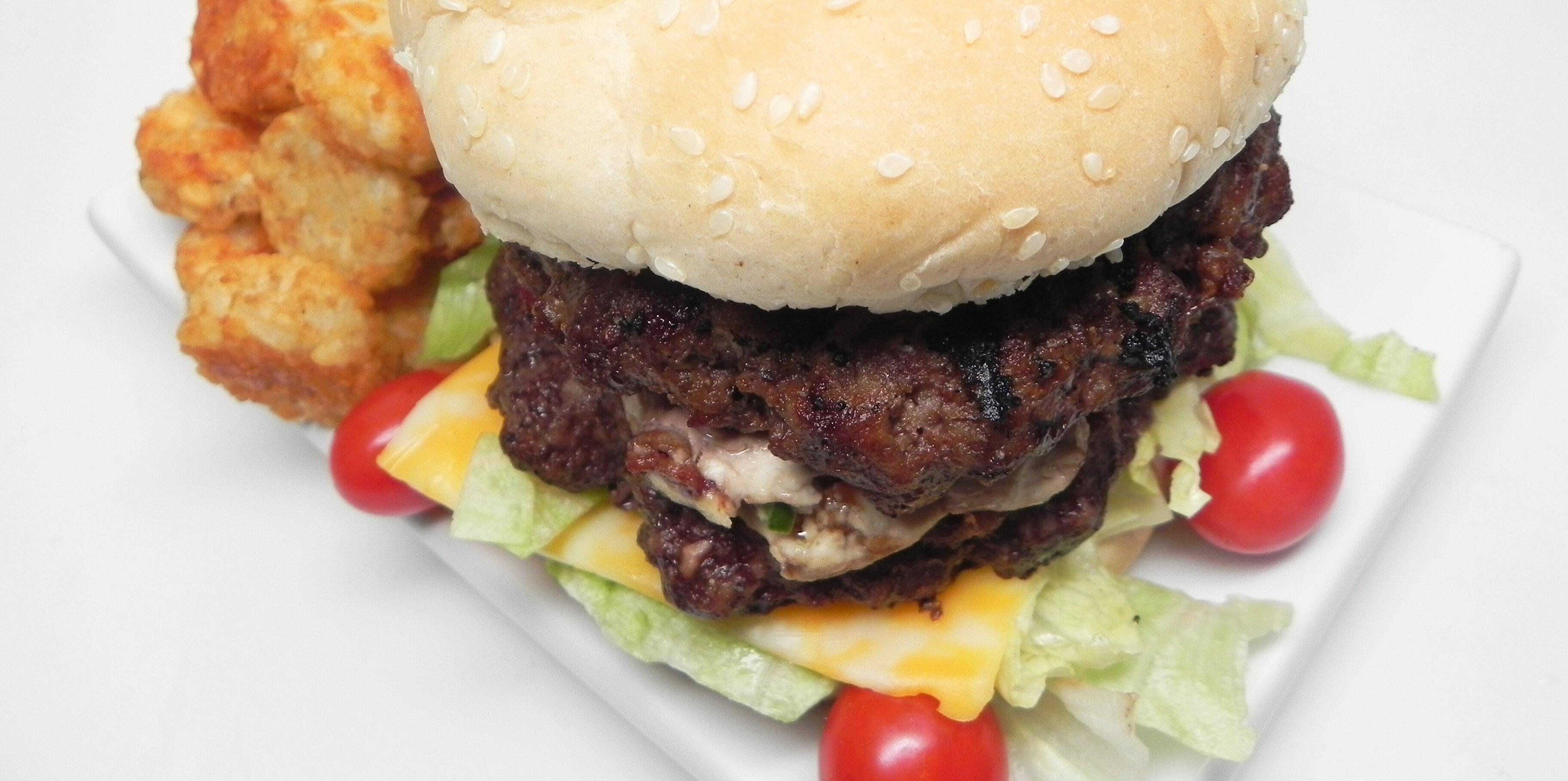 jeans bacon jalapeno cream cheese stuffed burgers recipe