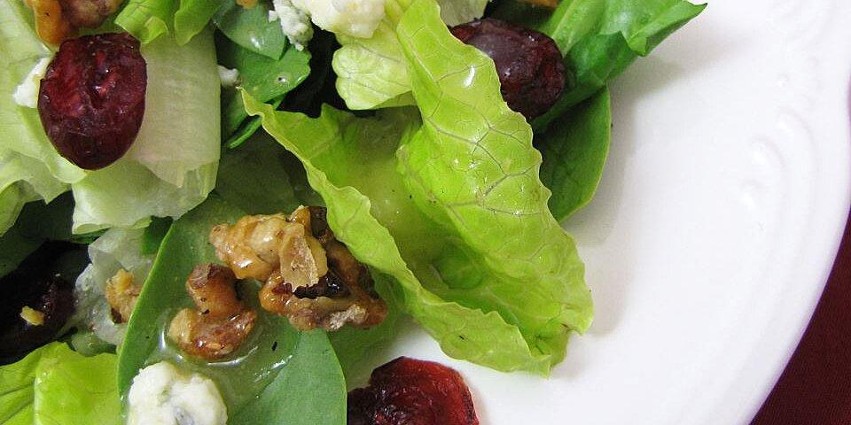 missys candied walnut gorgonzola salad recipe