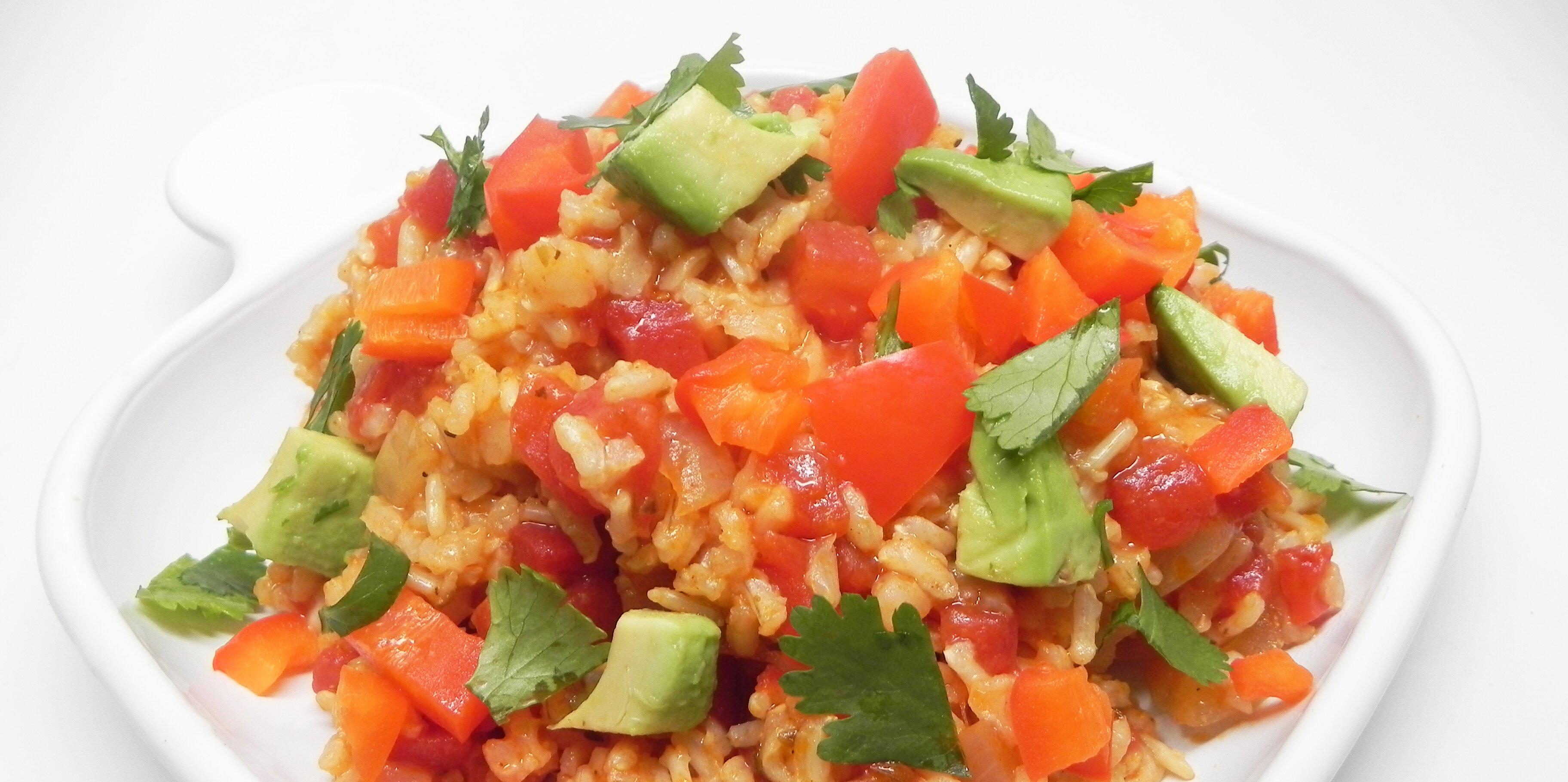 vegan spanish rice recipe