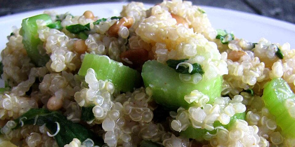 lemony quinoa recipe