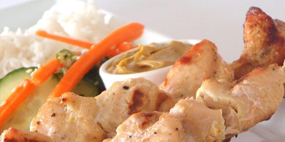 easy chicken satay recipe
