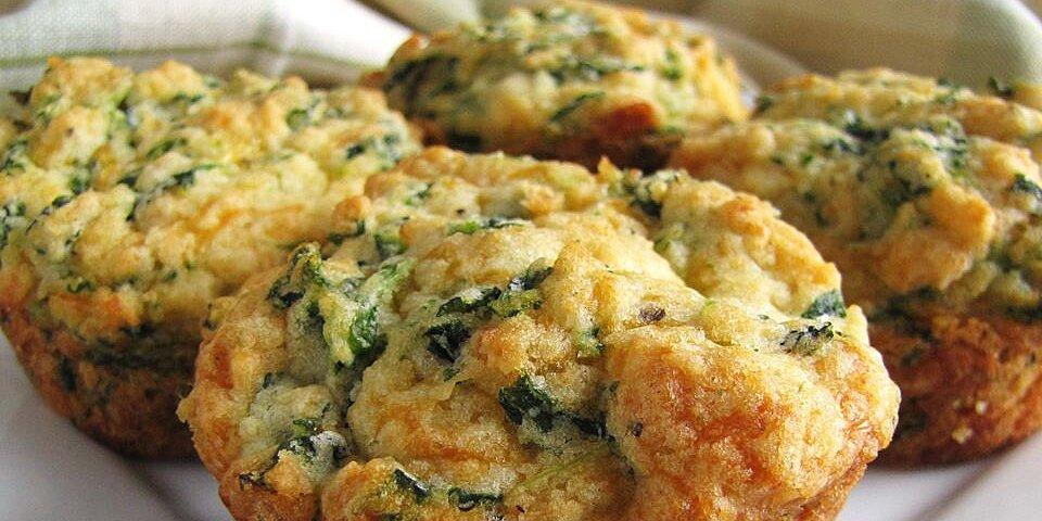spinach cheddar muffins recipe