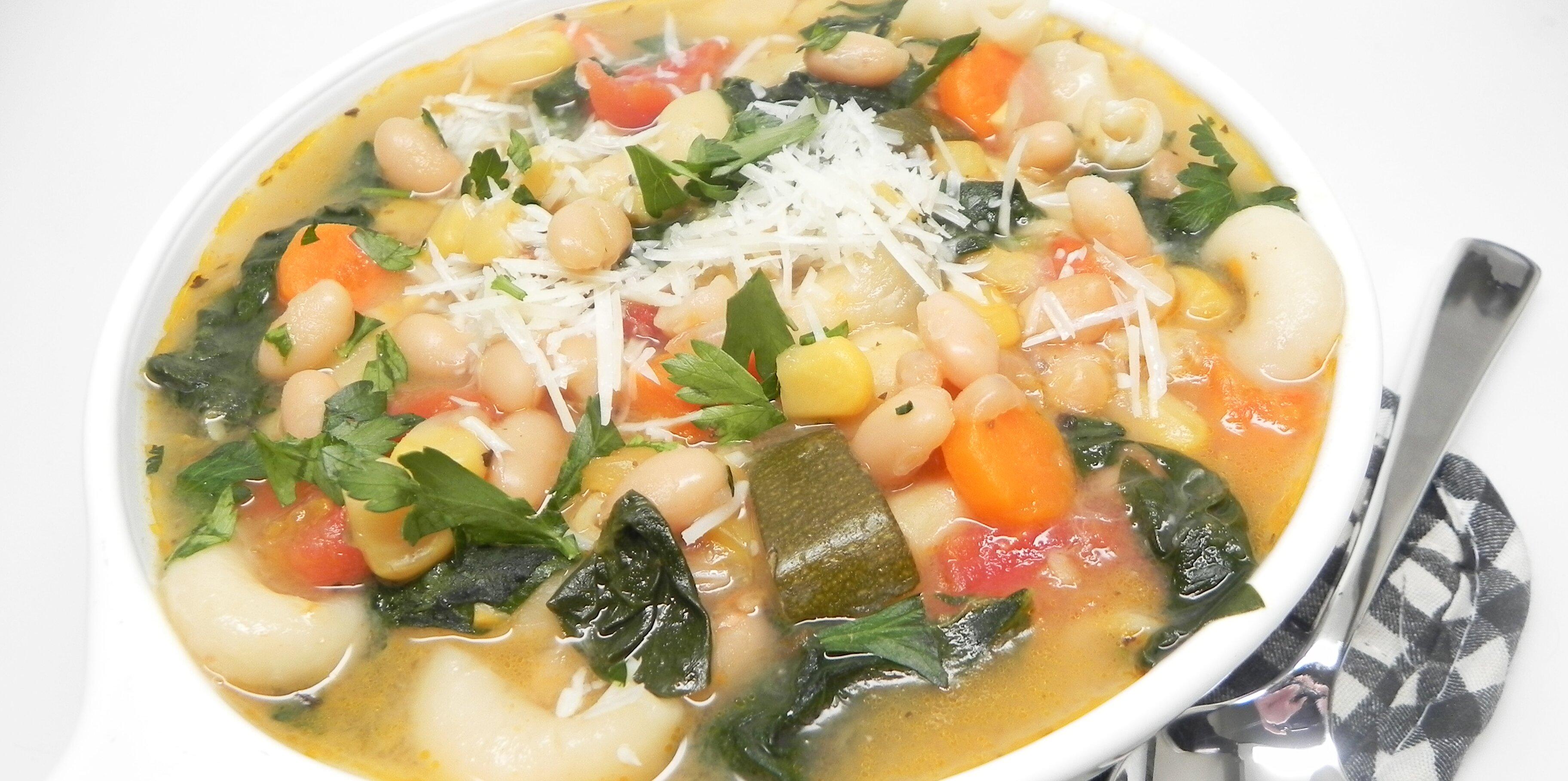 instant pot minestrone recipe
