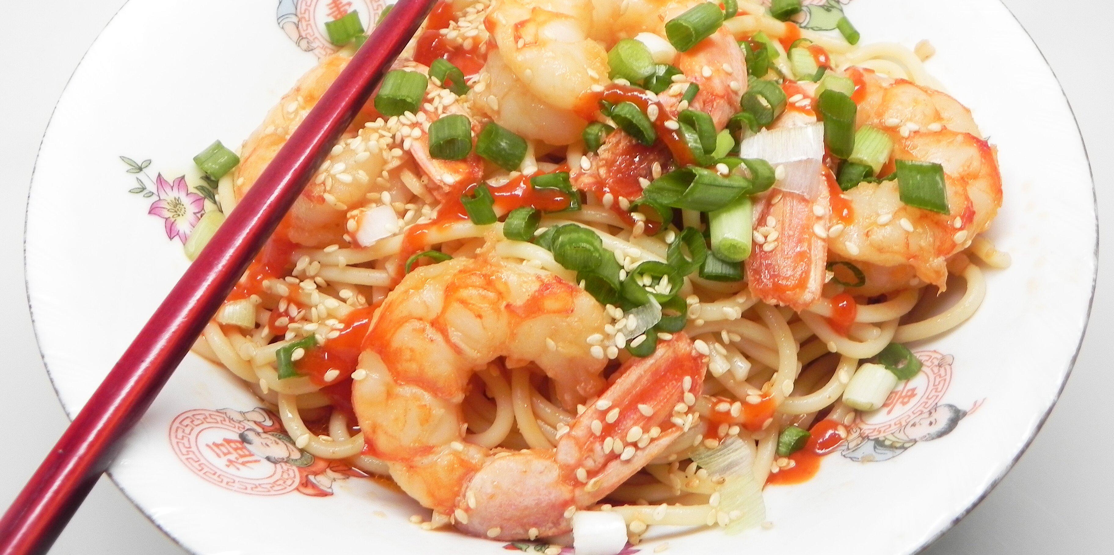 asian style shrimp scampi recipe
