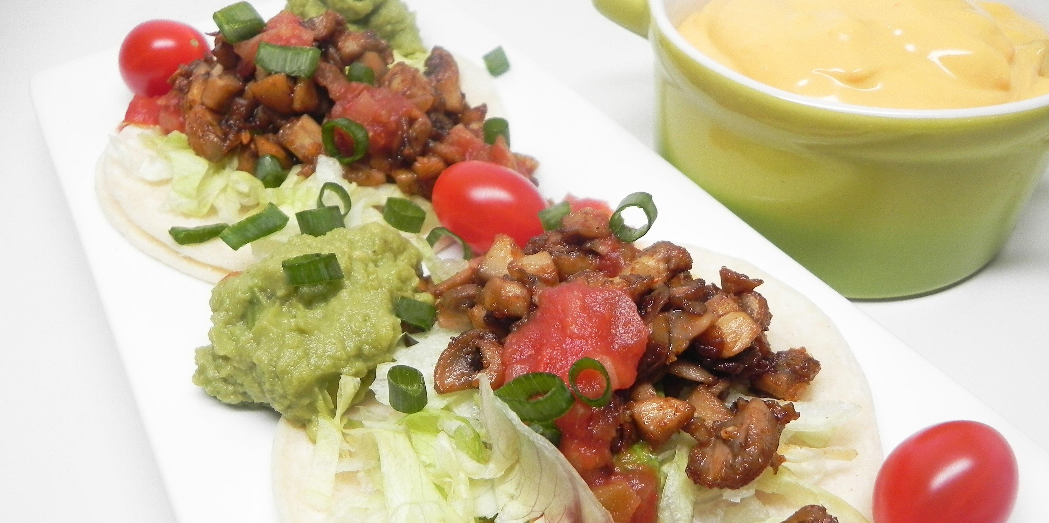 vegetarian mushroom tacos recipe