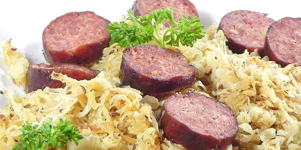 sausage n kraut recipe