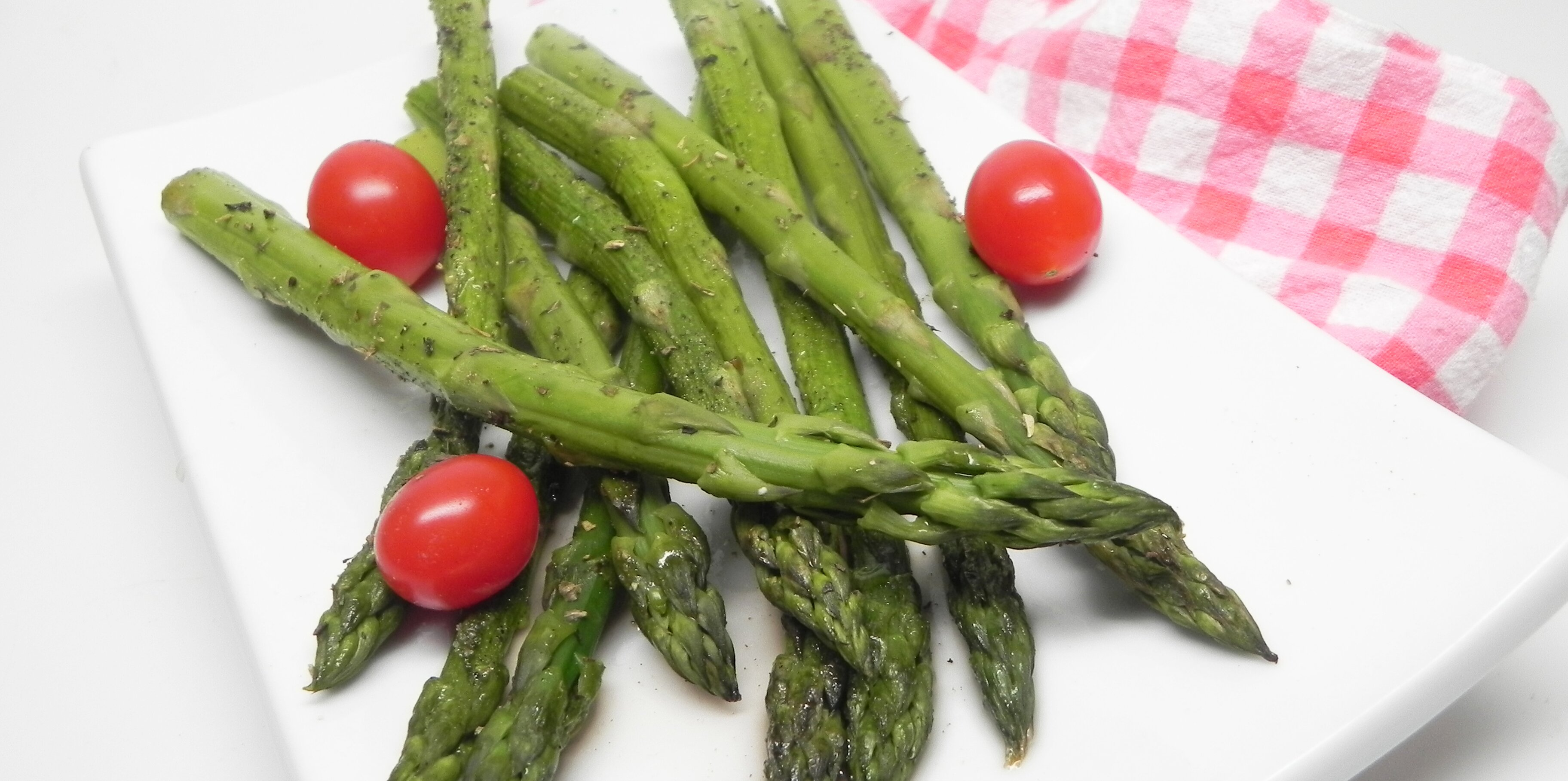 baked asparagus with red wine vinegar recipe