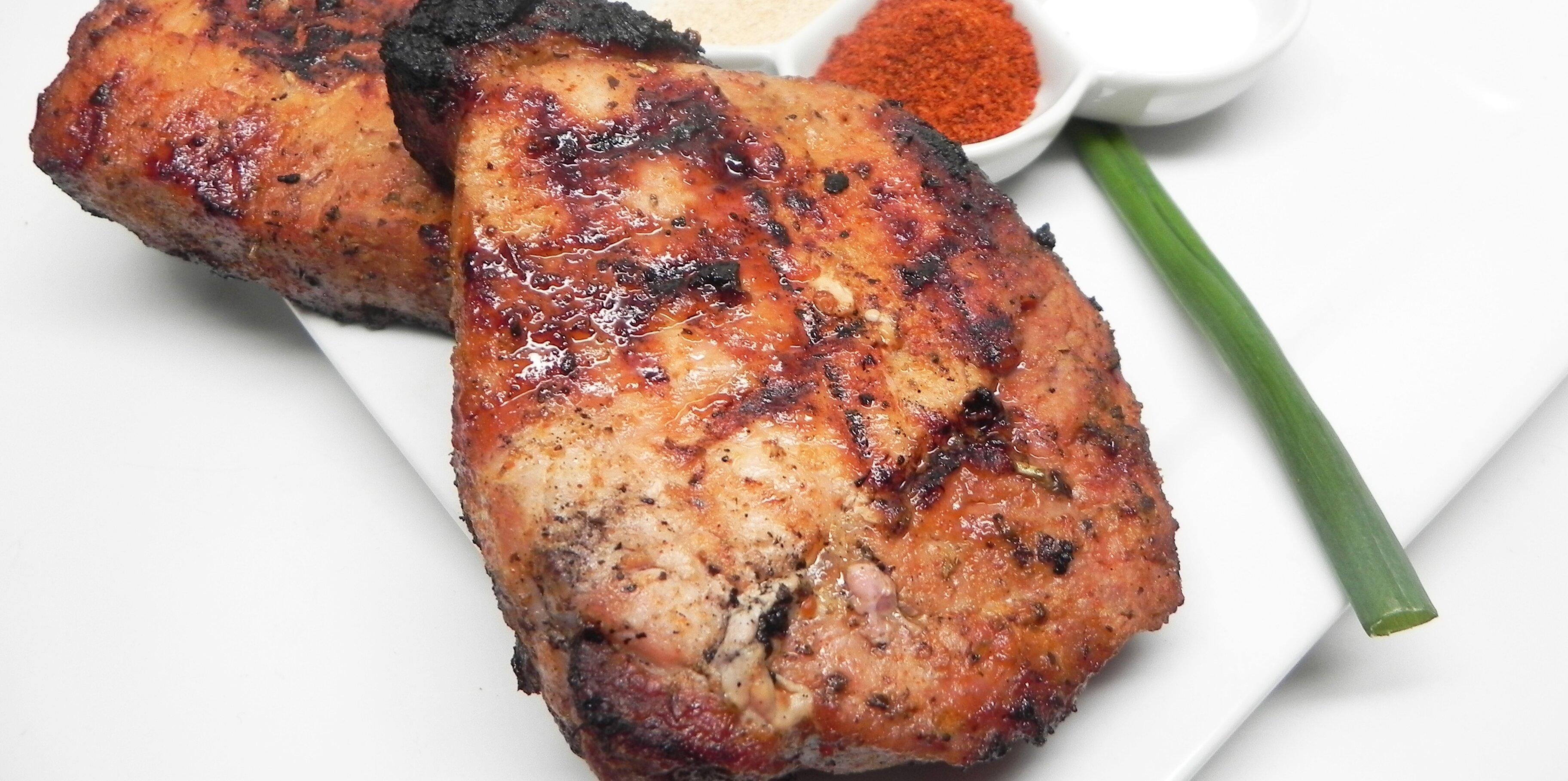 garlic lime pork chops recipe