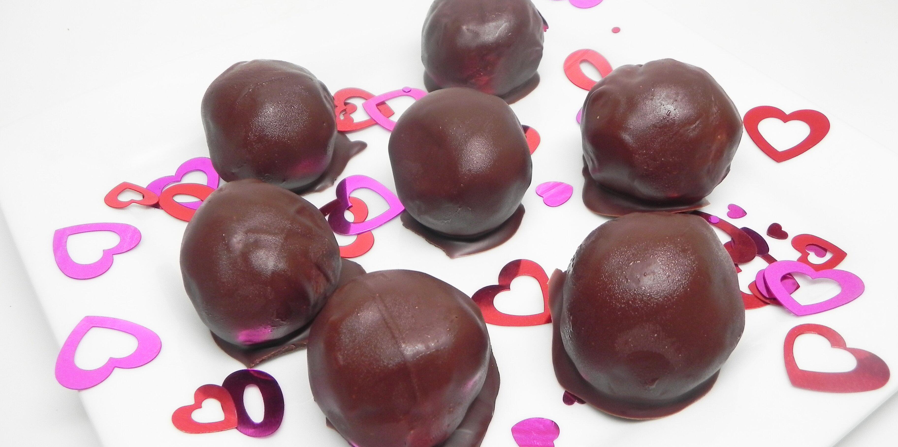 chocolate covered peanut butter balls recipe