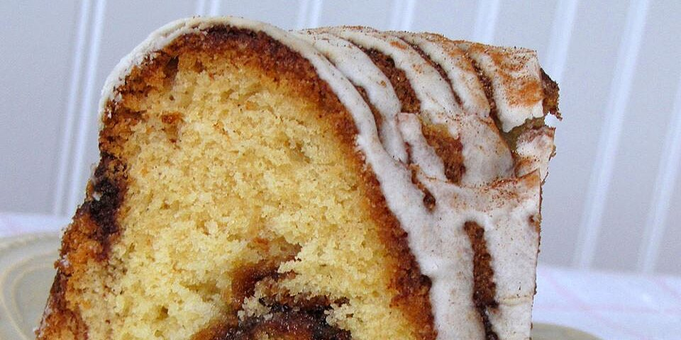 cinnamon swirl bundt coffee cake recipe