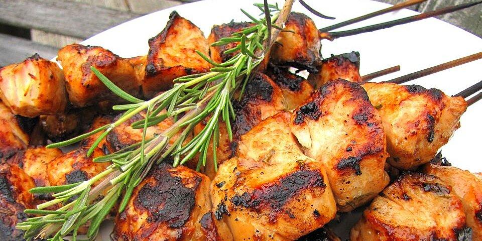 rosemary ranch chicken kabobs recipe
