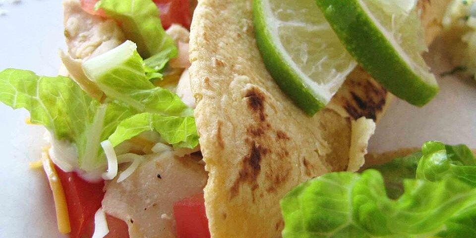 lime chicken soft tacos recipe