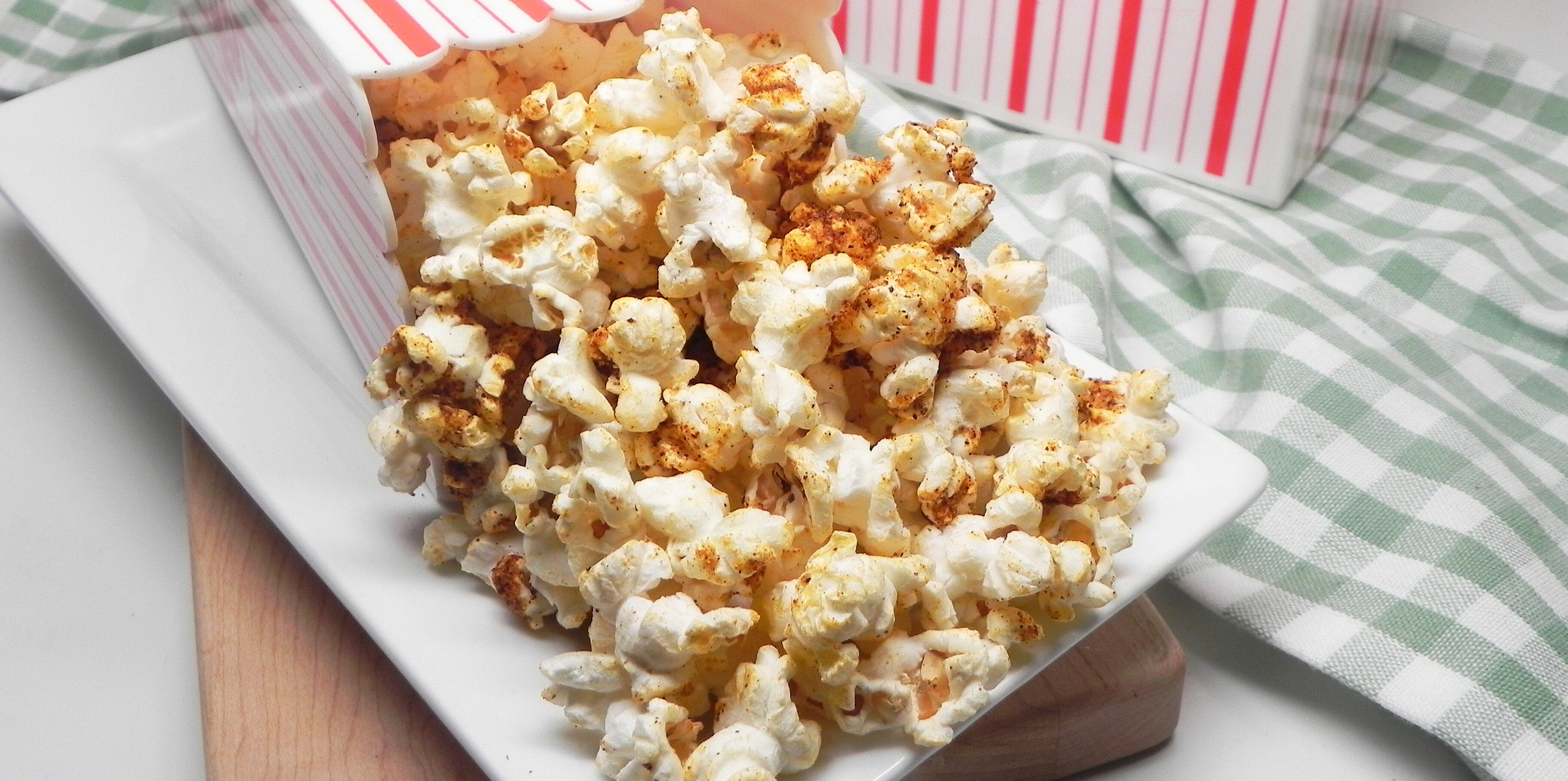 cheesy chili popcorn recipe